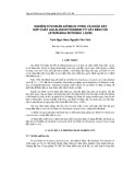 Nghiên cứu nhân giống in vitro và khảo sát hợp chất Alkaloid rotundine từ cây bình vôi (Stephania rotunda lour)