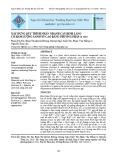 Xây dựng quy trình nhân nhanh cây đinh lăng có hàm lượng Saponin cao bằng phương pháp in vitro