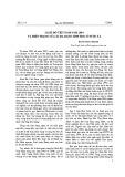 Sách Đỏ Việt Nam năm 2004 và hiện trạng đa dạng sinh học ở nước ta