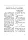 Ảnh hưởng của cường độ ánh sáng và nồng độ NaCl đến sự sinh trưởng của hai loài vi tảo biển độc hại Prorocentrum Rhathymum và Lexandrium Tamarense