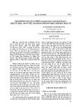 Giám định loài sán lá phổi Paragonimus Heterotremus Chen ET Hisa, 1964 ở Việt Nam bằng phương pháp sinh học phân tử