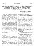 Nuôi trồng thử nghiệm 2 chủng tảo lam Spirulina Platensis CNT và Spirulina Platensis C1 trong các loại nước khoáng Thạch Thành – Thanh Hóa, Thanh Tân – Thừa Thiên Huế và Thanh Liêm – Hà Nam