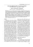 Khả năng chịu mất nước và tái sinh của mô sẹo ở cây đậu xanh - Vigna radiata (L.) Wilczek