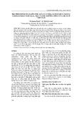 Đặc điểm hình thái giới tính loài cà cuống Lethocerus Indicus (Lepeletier Et Serville, 1825) và môi trường sống của chúng ở Việt Nam