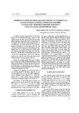 Nghiên cứu tích lũy kim loại nặng chì (Pb) và Cadmium (Cd) ở loài sò lông (Anadara Subcrenata Lischke) và ngao dầu (Meretrix Meretrix Linnaeus) vùng cửa sông, thành phố Đà Nẵng