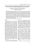 Đánh giá sự đa dạng di truyền của 50 giống đậu tương Việt Nam có phản ứng khác nhau đối với bệnh gỉ sắt bằng chỉ thị SSR