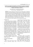 Testing on three determining methods of genetic diversity on earthworm species belonging to the Pheretima species group in the Mekong delta