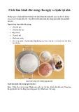 Cách làm bánh đúc nóng cho ngày se lạnh tại nhà