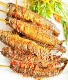 Giáo trình Quy trình sản xuất Cá kèo tẩm gia vị