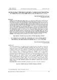 Đánh giá hoạt tính kháng oxy hóa và kháng đái tháo đường in vitro của các cao chiết từ lá cây Cò sen (Miliusa velutina)