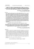 Nghiên cứu chọn cây trội giống quế lá nhỏ (Cinnamomum cassia Blume) có sản lượng vỏ và hàm lượng tinh dầu cao phục vụ sản xuất giống trên địa bàn huyện Văn Yên tỉnh Yên Bái