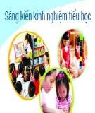 Sáng kiến kinh nghiệm Tiểu học: Sử dụng phần mềm Mimio để nâng cao hiệu quả dạy học môn Tiếng Anh ở tiểu học