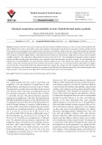 Chemical composition and suitability of some Turkish thermal muds as peloids