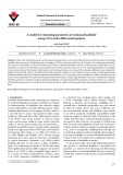 A model for estimating parameters of rotational landslide using a first-order differential equation