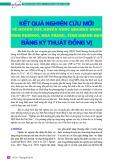 Kết quả nghiên cứu mới về nguồn gốc nguồn nước khoáng nóng Vĩnh Phương, Nha Trang tỉnh Khánh Hòa bằng kỹ thuật đồng vị