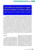 Ảnh hưởng của phân bón lá vi lượng bổ sung chitosan và xanthan chiếu xạ đến năng suất, chất lượng cải bắp