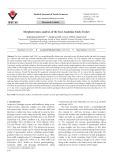 Morphotectonic analysis of the East Anatolian Fault, Turkey