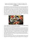 Những nét tinh túy trong văn hóa ẩm thực của người Nhật