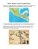 Khám phá bí ẩn Atlantis và nền văn minh Maya