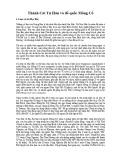 Lịch sử Thành Cát Tư Hãn và Đế quốc Mông Cổ
