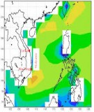 Long-term variation of reanalyzed wind waves on the Southern Central Coast, Vietnam