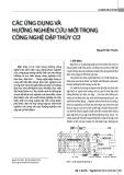 Các ứng dụng và hướng nghiên cứu mới trong công nghệ dập thủy cơ