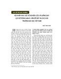Hội nhập khu vực về nghiên cứu và giảng dạy lịch sử Đông Nam Á: Vấn đề đặt ra cho các trường đại học Việt Nam