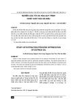 Nghiên cứu tối ưu hóa quy trình chiết xuất dầu đà điểu