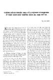 Chính sách thuộc địa của Pièrre Pasquier ở Việt Nam đầu những năm 30, thế kỷ XX