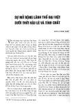 Sự mở rộng lãnh thổ Đại Việt dưới thời Hậu Lê và tính chất