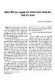 Nguyễn Cư Trinh và vùng đất Nam Bộ thế kỷ XVIII