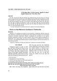 Nghiên cứu phương pháp mới tổng hợp Thalidomid