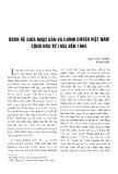 Quan hệ giữa Nhật Bản và chính quyền Việt Nam Cộng hoà từ 1955 đến 1965