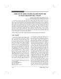 Đánh giá tác dụng của viên XG1 điều trị xơ gan do rượu giai đoạn Child – Pugh B