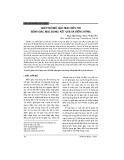 Ghép nội mô giác mạc điều trị bệnh giác mạc bọng: Kết quả và biến chứng