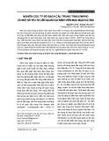 Nghiên cứu tỷ số bạch cầu trung tính/Lympho và một số yếu tố liên quan của bệnh viêm mao mạch dị ứng