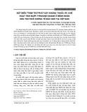 Đột biến T790m thứ phát gây kháng thuốc ức chế hoạt tính EGFR Tyrosine Kinase ở bệnh nhân ung thư phổi không tế bào nhỏ tại Việt Nam