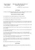 Quyết định số 02/2019/QĐ-UBND tỉnh CaoBằng