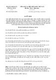 Quyết định số 04/2019/QĐ-UBND tỉnh LaiChâu