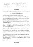 Quyết định số 18/2019/QĐ-UBND tỉnh HưngYên