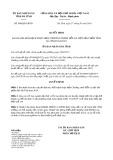 Quyết định số 900/2019/QĐ-UBND tỉnh HàTĩnh