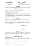 Quyết định số 12/2019/QĐ-UBND tỉnh Thừa Thiên Huế