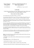 Quyết định số 831/2019/QĐ-UBND tỉnh LâmĐồng