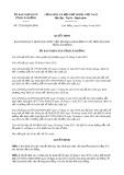 Quyết định số 27/2019/QĐ-UBND tỉnh LâmĐồng