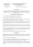 Quyết định số 414/2019/QĐ-UBND tỉnh LạngSơn