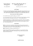 Quyết định số 1118/2019/QĐ-UBND tỉnh ThanhHóa