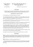 Quyết định số 431/2019/QĐ-UBND tỉnh CàMau