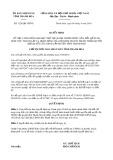 Quyết định số 1228/2019/QĐ-UBND tỉnh ThanhHóa