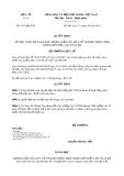 Quyết định số 1357/2019/QĐ-BYT