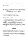 Quyết định số 02/2019/QĐ-UBND tỉnh LaiChâu